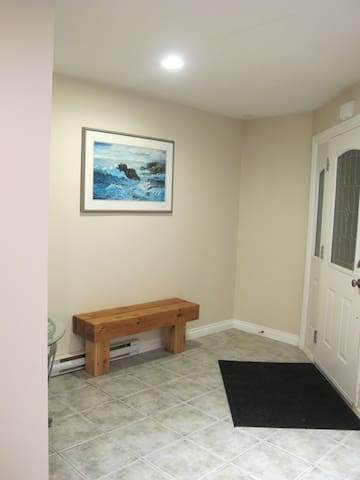 Private Foyer/Mud room
