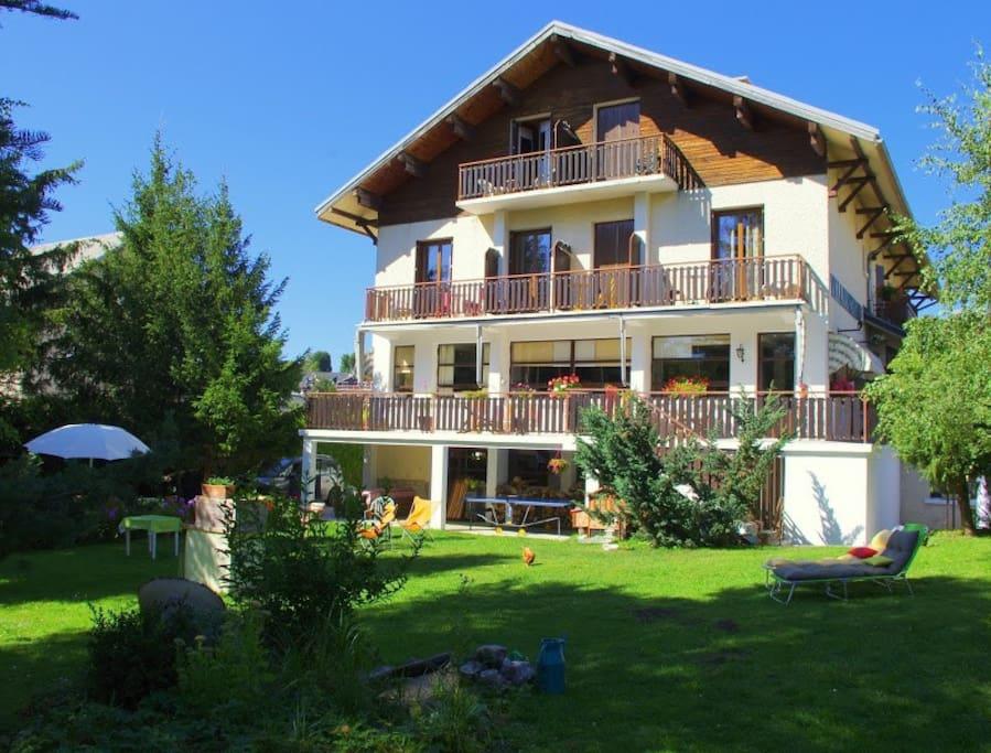 Villa primerose chambres d 39 h tes 4 maisons louer - Chambre d hotes villard de lans ...