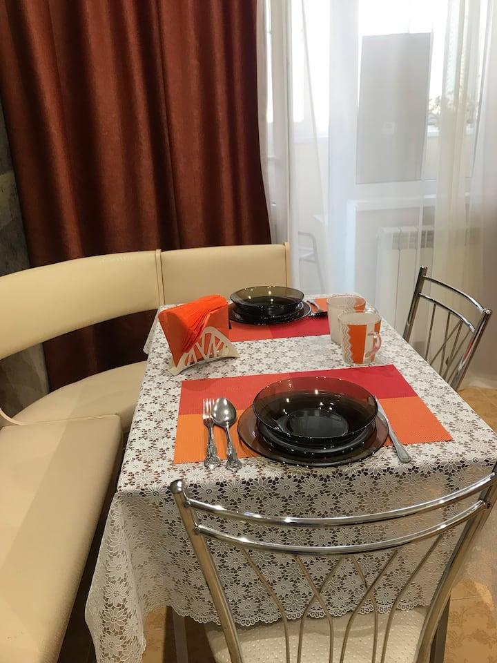 Уютная новая квартира в тихом районе Русское поле в Таганроге