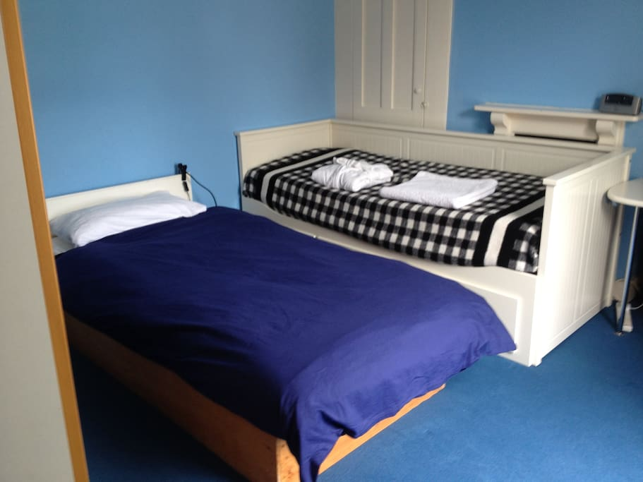 Room arranged as single