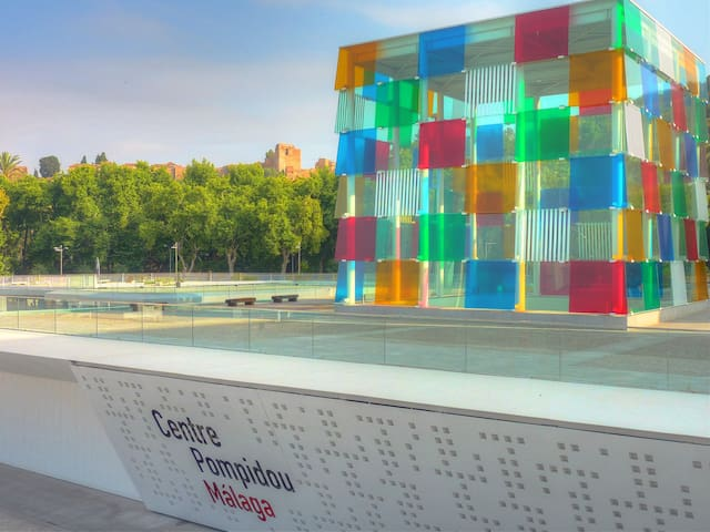 THE ENVIRONMENT. MALAGA CENTER PONPIDOU