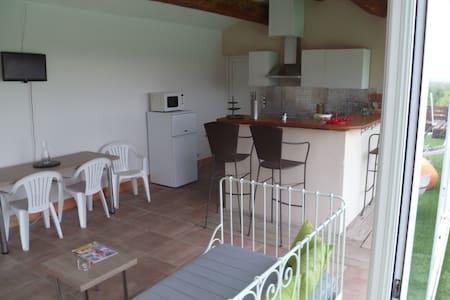 Appartement avec piscine - Servian - Apartment