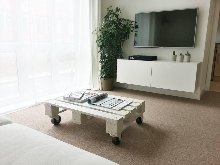 Living/Dining Room -  Custom coffee table