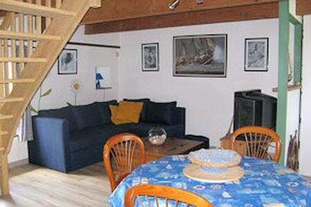 Studio typique breton avec jardin - Plouézec