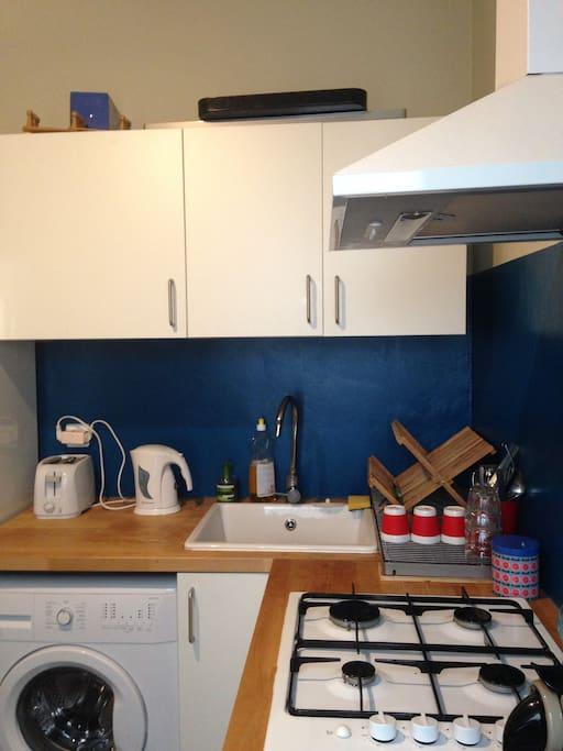 ...included washing machine and coffee machine!