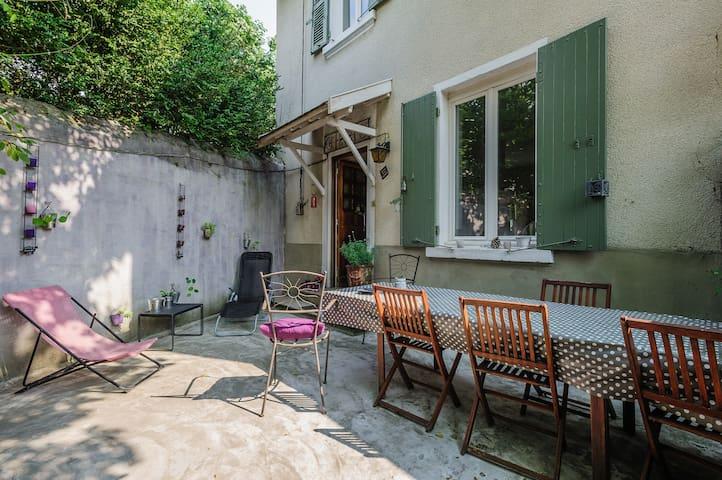 Maison de charme 1930 proche Lyon. - Lentilly - House