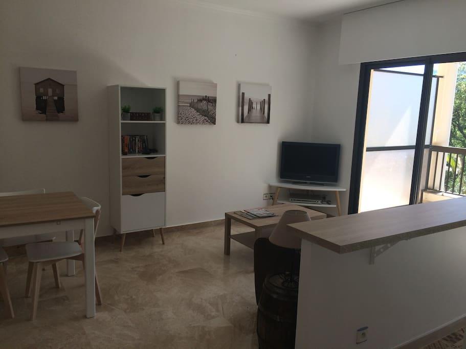 Salon coin TV - living room TV