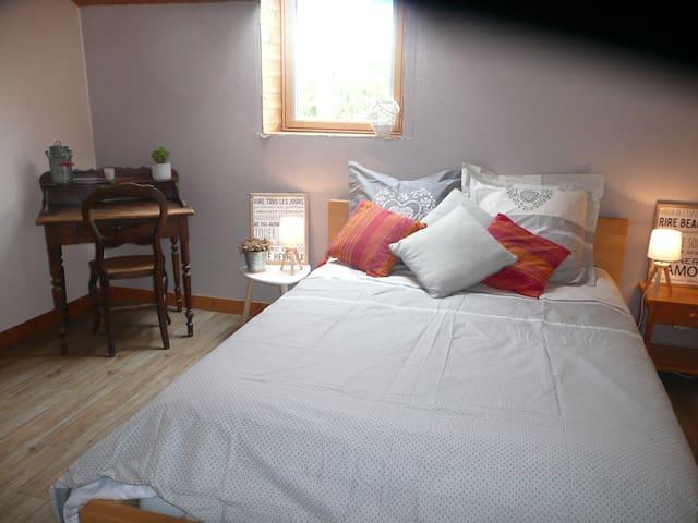 Chambre au calme / proche de Nantes
