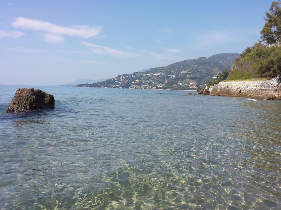 Calandre Beach, Ventimiglia!!