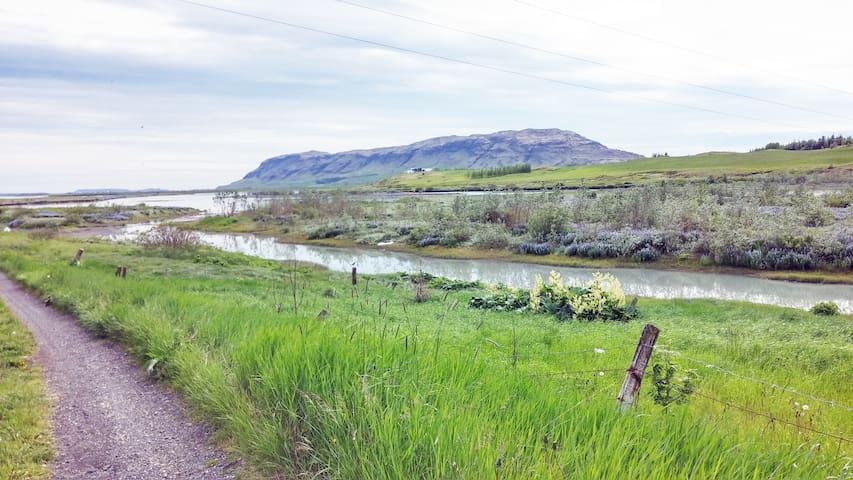 Auðsholt a family home with a view - Hrunamannahreppur - Dom