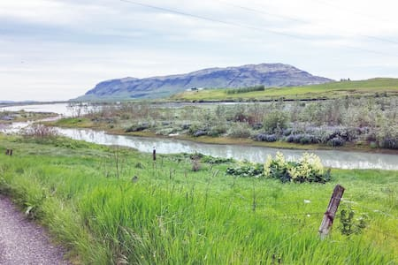Auðsholt a family home with a view - Hrunamannahreppur