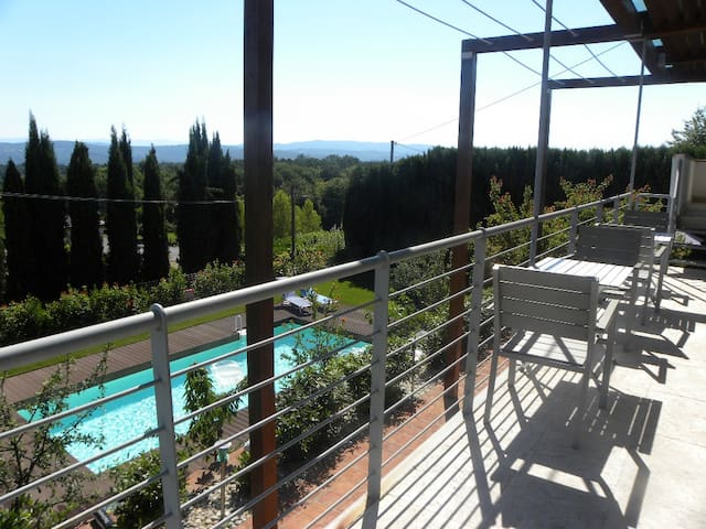 5Guests,Walking to town,Pool,AirCon - Tavarnelle Val di Pesa - Apartmen