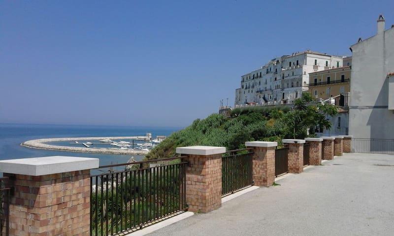 Appartamento in centro vista mare