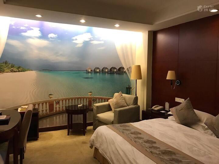(特惠)春秋淹城附近豪华酒店房间含自助早餐-连住优惠更多!