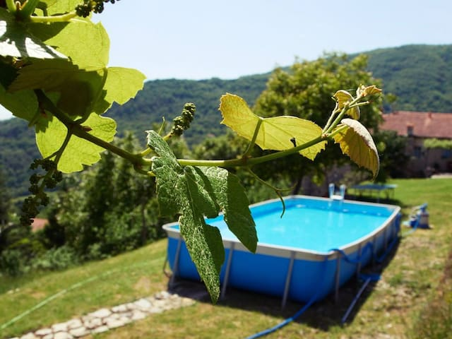 Cosy apartment  in Tuscany Lunigiana & 5Terre
