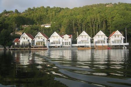 Praktfull hytte rett ved sjøen - Lindesnes - Maison
