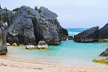 Jobson's Cove - perfect for children and non-swimmers.