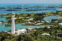Gibbs Hill Lighthouse - a short taxi or moped ride away.