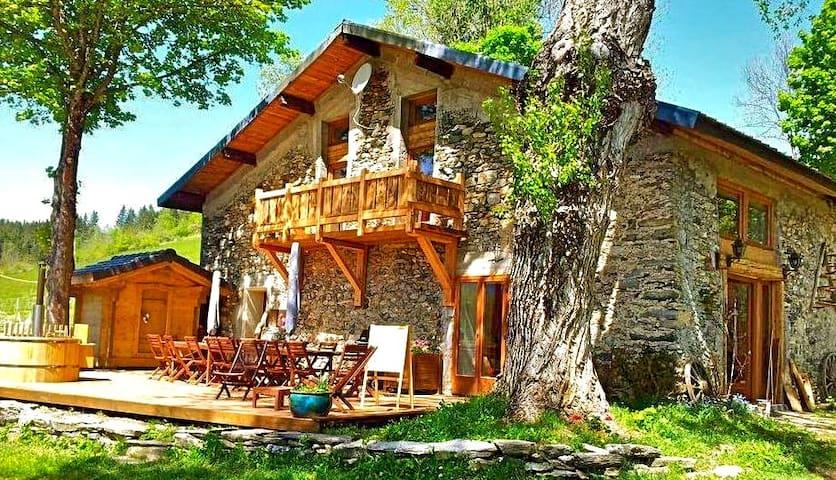 Cocooning à la montagne, spa - Le Pontet - Гостевой дом