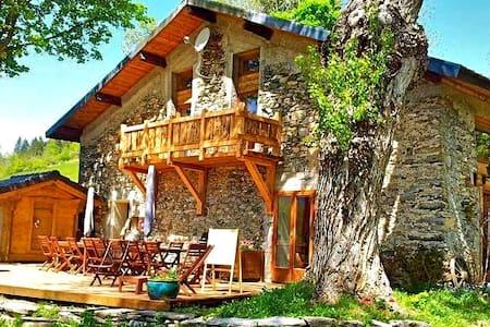 Cocooning à la montagne, spa - Le Pontet - Guesthouse