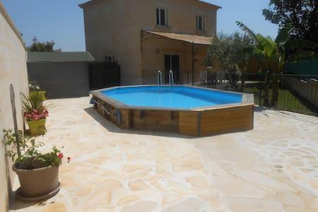 Villa 100m2 proche d'Alès - Gard - Méjannes-lès-Alès