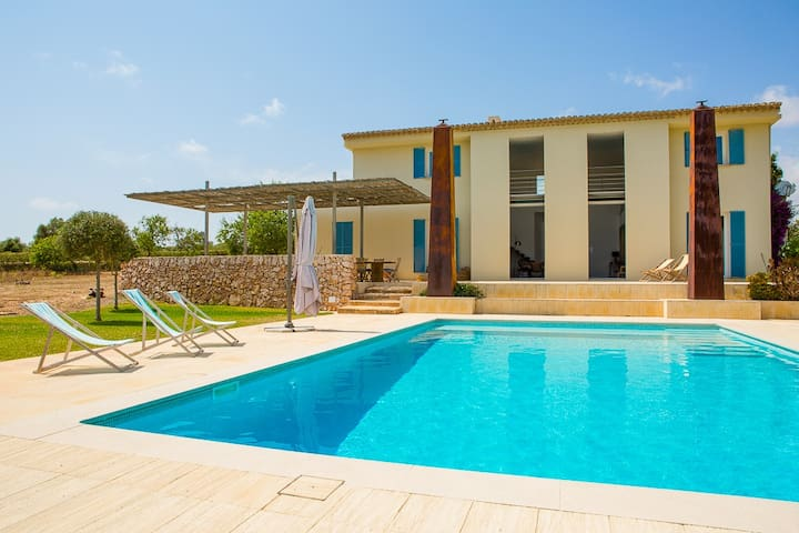 Can Ses Aus  Pool & Beach - Cala Llombards - Villa