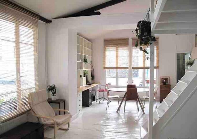 Superb Loft in the center of Paris