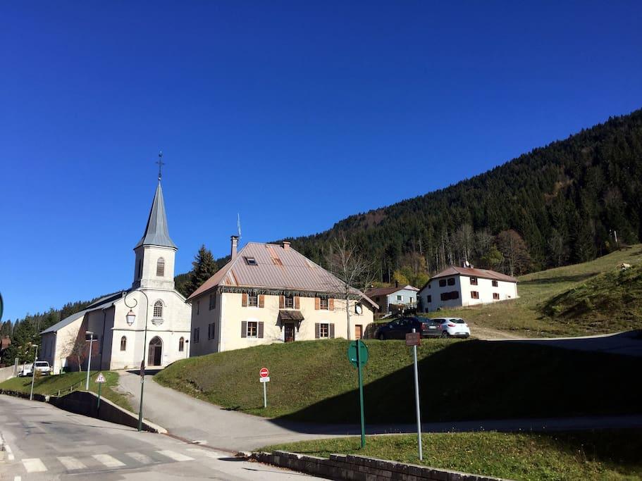 Centre de Lélex, Station des Monts-Jura