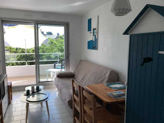 Appartement T2 à 50 m de la plage et thalasso