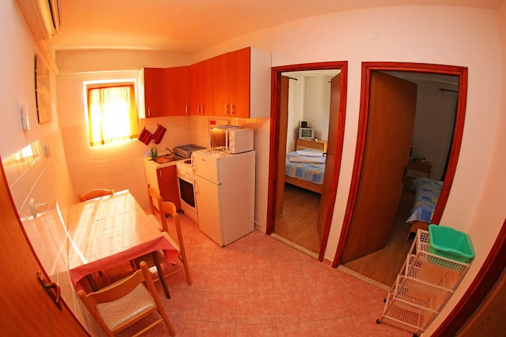 Two badroom apartment with sea view( A1)
