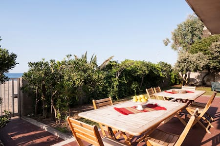 VLM Villa 5 bdr on the Beach with garden - Mongiove - Casa