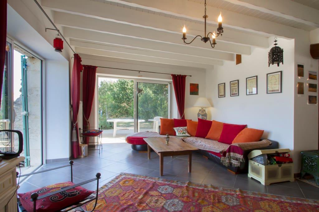 Bordeaux vignoble belle maison maisons louer saint for Maison louer bordeaux