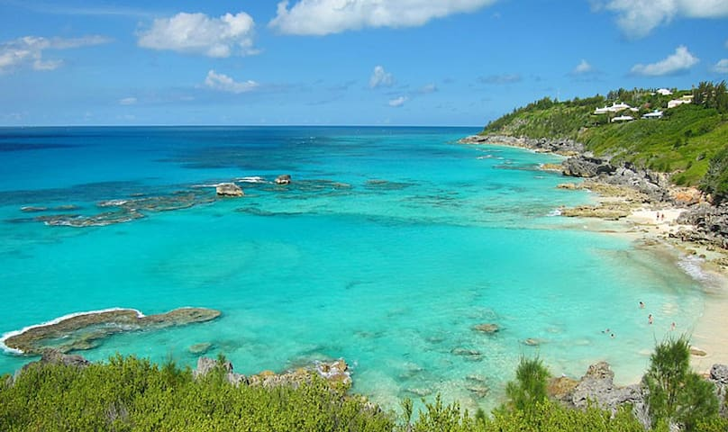 Church Bay - a short ride away for the best snorkeling.