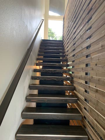Stairway to great room