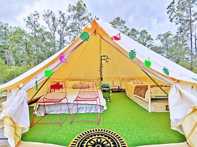 Wonderwander Glamping hunter valley Luxury Tent 4