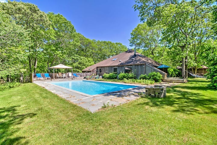 Serene East Hampton Apt. w/ Private Yard & Pool!