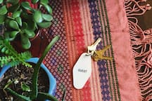 Guest key.