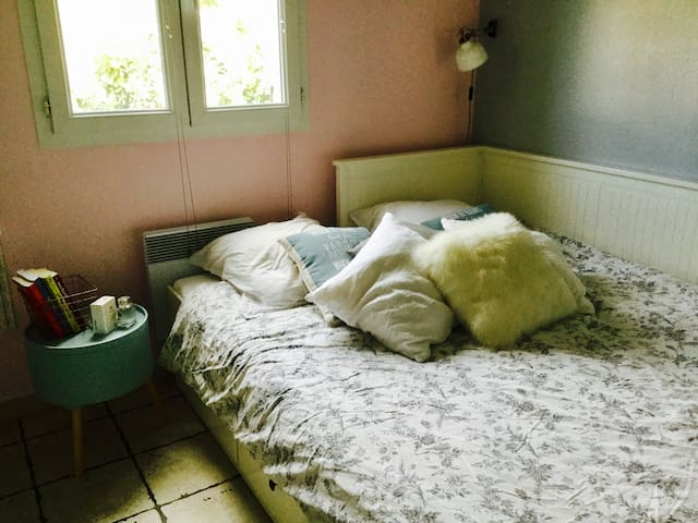 2 chambres cosy avec petit déjeuner inclus