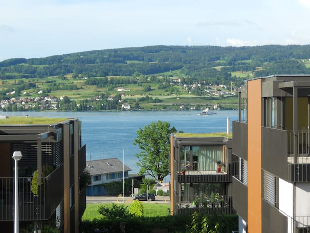 Stylish Appartment with Lake View and 2 Balconies - Horgen - Leilighet