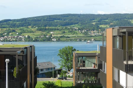 Stylish Appartment with Lake View and 2 Balconies - Horgen