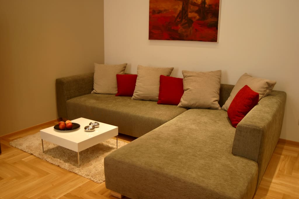 Couch in the livingroom