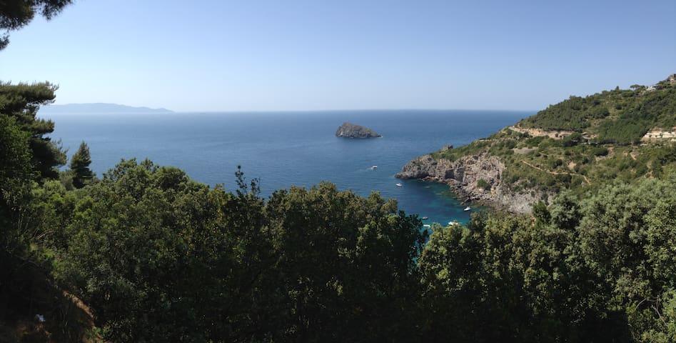 Villa con affaccio Cala del gesso - Porto Santo Stefano - Villa