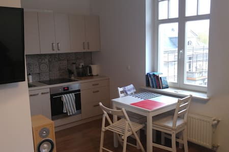 Amazing apartment in historical Gniezno center - Gniezno - Leilighet