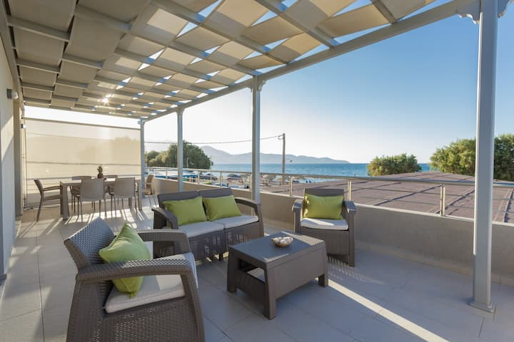 Ammos Beachfront Luxury Apartment