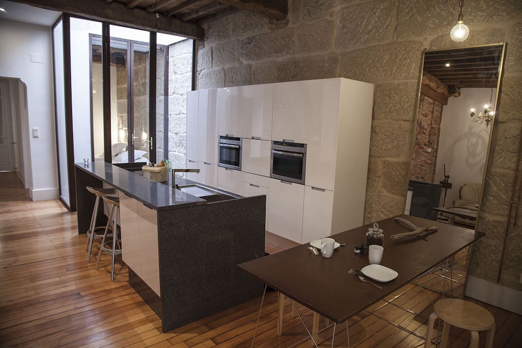 Espacio de cocina comedor