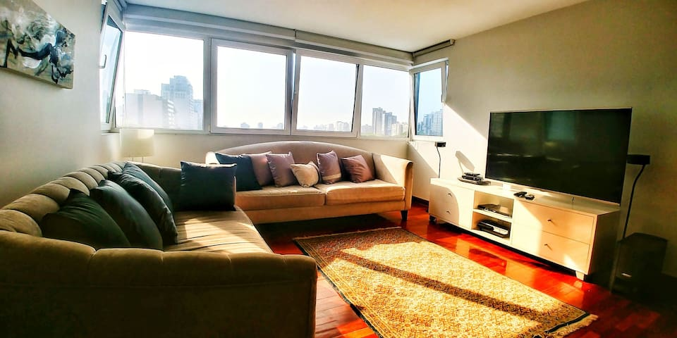 Cozzy apartment in exclusive zone of San Isidro