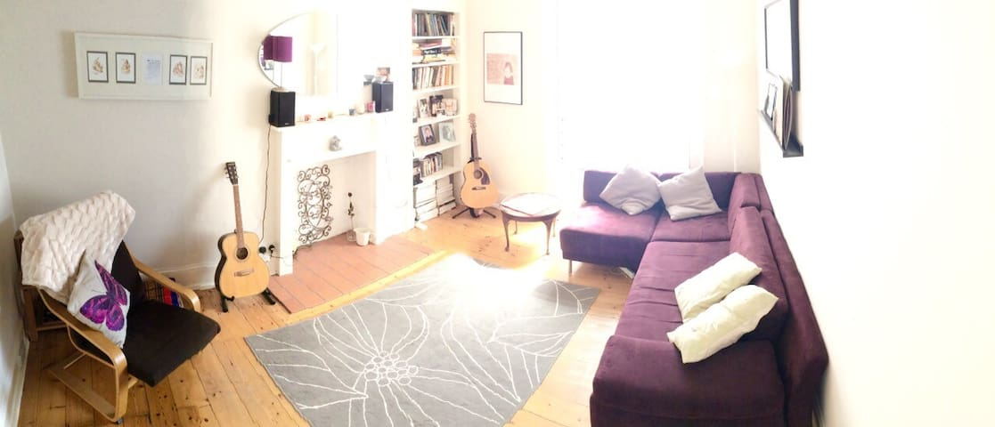 Bright, spacious double room - Edinburgh - Flat