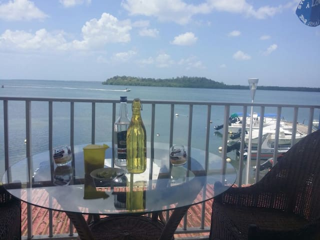 Chic Guadeloupe flat w/ scenic view - Morne-A-l'Eau - Lägenhet