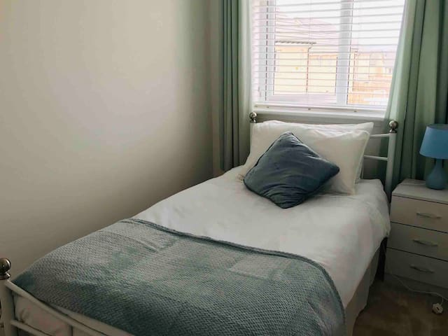 Single room in clean and comfortable home.