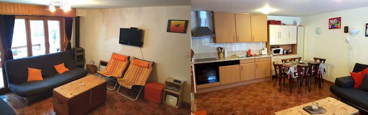 Appartement 2.5 pièces avec piscine et parking